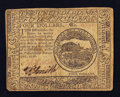 Colonial Notes:Continental Congress Issues, Continental Currency February 17, 1776 $4 Fine-Very Fine.. ...