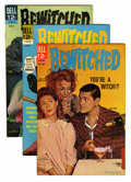 Silver Age (1956-1969):Humor, Bewitched File Copy Group (Dell, 1963-64) Condition: Average VF+.... (Total: 6 Comic Books)