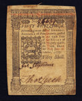 Colonial Notes:Pennsylvania, Pennsylvania October 1, 1773 50s Very Fine.. ...