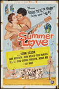 """Movie Posters:Rock and Roll, Summer Love Lot (Universal International, 1958). One Sheets (2)(27"""" X 41""""). Rock and Roll.. ... (Total: 2 Items)"""