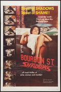 """Movie Posters:Action, Bourbon Street Shadows Lot (Manson Distributing, 1962). One Sheets (2) (27"""" X 41""""). Action.. ... (Total: 2 Items)"""
