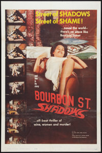 "Bourbon Street Shadows Lot (Manson Distributing, 1962). One Sheets (2) (27"" X 41""). Action. ... (Total: 2 Item..."