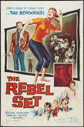 """Movie Posters:Crime, The Rebel Set (Allied Artists, 1959). One Sheet (27"""" X 41""""). Crime.. ..."""