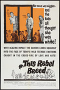 "Movie Posters:Exploitation, This Rebel Breed Lot (Warner Brothers, 1960). One Sheets (2) (27"" X 41""). Exploitation.. ... (Total: 2 Items)"