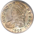 Bust Half Dollars, 1828 50C Square Base 2, Small 8, Large Letters MS64+ PCGS. CAC.O-116, R.2....