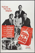 """Movie Posters:Comedy, Made in Paris (MGM, 1966). Military One Sheet (27"""" X 41"""") and Lobby Card Set of 8 (11"""" X 14""""). Comedy.. ... (Total: 9 Items)"""