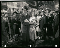 """James Stewart and Gloria Grahame in """"It's a Wonderful Life"""" (RKO, 1946). Proof Keybook Photo (8"""" X 10&quo..."""