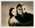 """Movie Posters:Hitchcock, Teresa Wright and MacDonald Carey in """"Shadow of a Doubt"""" (Universal, 1943). Photo (8"""" X 10"""").. ..."""