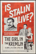 "Movie Posters:Exploitation, The Girl in the Kremlin (Universal International, 1957). One Sheet(27"" X 41""). Exploitation.. ..."