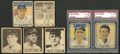 Baseball Cards:Lots, 1940 and 1941 Play Ball Baseball Collection (7) - Mostly HoFers!...
