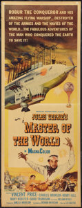 "Movie Posters:Science Fiction, Master of the World (American International, 1961). Insert (14"" X36""). Science Fiction.. ..."