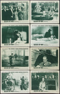 """Movie Posters:Horror, House of Wax (Warner Brothers, 1953). Lobby Card Set of 8 (11"""" X 14""""). 2-D Style. Horror.. ... (Total: 8 Items)"""
