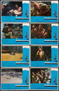 "Movie Posters:Action, Deliverance (Warner Brothers, 1972). Lobby Card Set of 8 (11"" X14"") and Pressbook (11"" X 14""). Action.. ... (Total: 9 Items)"