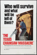 """Movie Posters:Horror, The Texas Chainsaw Massacre (Bryanston, 1974). One Sheet (27"""" X 41""""). Horror.. ..."""