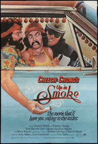 "Up in Smoke Lot (Paramount, 1978). British One Sheet (27"" X 40"") and One Sheet (27"" X 41""). Comedy..."