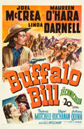 "Movie Posters:Western, Buffalo Bill (20th Century Fox, 1944). One Sheet (27"" X 41"").. ..."