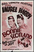 "Movie Posters:Comedy, Bonnie Scotland (MGM, R-1954). International One Sheet (27"" X 41""). Comedy.. ..."