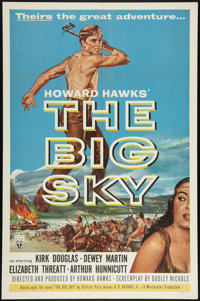 "The Big Sky (RKO, 1952). One Sheet (27"" X 41""). Western"