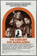 """Movie Posters:Rock and Roll, The Concert for Bangladesh (20th Century Fox, 1972). One Sheet (27""""X 41""""). Style B. Rock and Roll.. ..."""