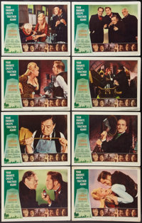 """The Comedy of Terrors (American International, 1964). Lobby Card Set of 8 (11"""" X 14""""). Horror. ... (Total: 8 I..."""
