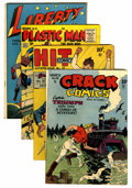 Golden Age (1938-1955):Miscellaneous, Golden Age Hero Group (Various, 1945-55).... (Total: 4 Comic Books)