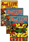 Golden Age (1938-1955):Non-Fiction, Real Life Comics Group (Nedor Publications, 1947-51).... (Total: 6Comic Books)