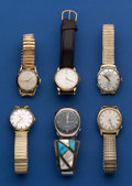 Timepieces:Wristwatch, Wholesale Lot of 6 Vintage Wristwatches. ... (Total: 6 Items)