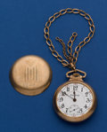 Timepieces:Pocket (post 1900), Illinois 18 Size 24 Jewel Bunn Special For Restoration. ...
