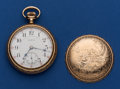 Timepieces:Pocket (post 1900), Elgin Very Sharp 23 Jewel 18 Size Veritas Pocket Watch. ...