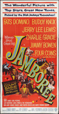 "Movie Posters:Rock and Roll, Jamboree (Warner Brothers, 1957). Three Sheet (41"" X 81""). Rock andRoll.. ..."