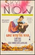 "Movie Posters:Academy Award Winners, Gone with the Wind (MGM, R-1961). Window Card (14"" X 22""). Academy Award Winners.. ..."