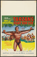 "Movie Posters:Adventure, Tarzan's Fight for Life Lot (MGM, 1958). Window Cards (2) (14"" X22""). Adventure.. ... (Total: 2 Items)"