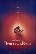 "Movie Posters:Animated, Beauty and the Beast (Buena Vista, 1991). One Sheet (27"" X 40""). DSAdvance. Animated.. ..."