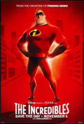 "Movie Posters:Animated, The Incredibles (Buena Vista, 2004). One Sheet (27"" X 40""). DSAdvance. Animated.. ..."