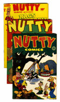 Golden Age (1938-1955):Funny Animal, Nutty Comics/Rags Rabbit File Copy Group (Harvey, 1945-54)Condition: Average VF.... (Total: 11 Comic Books)