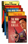 Silver Age (1956-1969):Adventure, Man from U.N.C.L.E. Group (Gold Key, 1965-1968).... (Total: 5 Comic Books)