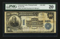 National Bank Notes:Pennsylvania, Conneaut Lake, PA - $10 1902 Plain Back Fr. 624 The First NB Ch. #6891. ...