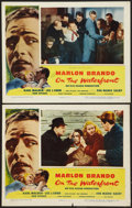 "Movie Posters:Academy Award Winners, On the Waterfront (Columbia, 1954). Lobby Cards (2) (11"" X 14"").Academy Award Winners.. ... (Total: 2 Items)"