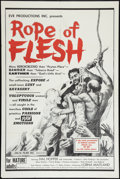 "Movie Posters:Adult, Mudhoney (Eve Productions, 1965). One Sheet (27"" X 41""). Adult. Alternate title: Rope of Flesh.. ..."
