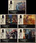 "Movie Posters:Action, The Italian Job (Paramount, 1969). Lobby Cards (5) (11"" X 14"").Action.. ... (Total: 5 Items)"