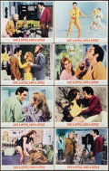 """Movie Posters:Elvis Presley, Live a Little, Love a Little (MGM, 1968). Lobby Card Set of 8 (11""""X 14""""). Elvis Presley.. ... (Total: 8 Items)"""