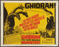 "Movie Posters:Science Fiction, Ghidrah, the Three-Headed Monster (Continental, 1965). Half Sheet(22"" X 28""). Science Fiction.. ..."