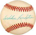 Autographs:Baseballs, 1970's Freddie Lindstrom Single Signed Baseball....