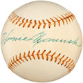 Autographs:Baseballs, Circa 1960 Heinie Manush Single Signed Baseball....