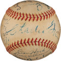 Autographs:Baseballs, 1948 Chicago Cubs Team Signed Baseball....