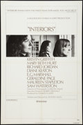 "Movie Posters:Drama, Interiors & Other Lot (United Artists, 1978). One Sheets (2) (27"" X 41"") Style B. Drama.. ... (Total: 2 Items)"