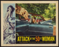 """Movie Posters:Science Fiction, Attack of the 50 Foot Woman (Allied Artists, 1958). Lobby Card (11""""X 14""""). Science Fiction.. ..."""