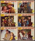 "Movie Posters:Western, The Last Round-Up (Paramount, 1934). Lobby Cards (6) (11"" X 14""). Western.. ... (Total: 6 Items)"