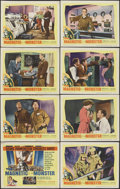"""Movie Posters:Science Fiction, The Magnetic Monster (United Artists, 1953). Lobby Card Set of 8 (11"""" X 14""""). Science Fiction.. ... (Total: 8 Items)"""