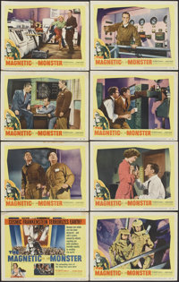 """The Magnetic Monster (United Artists, 1953). Lobby Card Set of 8 (11"""" X 14""""). Science Fiction. ... (Total: 8 I..."""